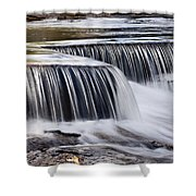 Serenity River Shower Curtain