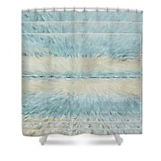 Serenity Spiral Dimensional Shower Curtain