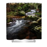Serenity Sunrise Shower Curtain