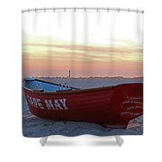 Serenity In Cape May Shower Curtain