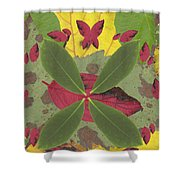 Serenity The Transcendence Into Autumn Shower Curtain