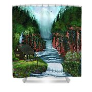 Serenity Valley Shower Curtain
