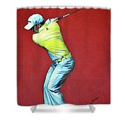 Sergio Garcia By Mark Robinson Shower Curtain