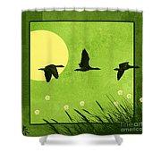 Series Four Seasons 1 Spring Shower Curtain