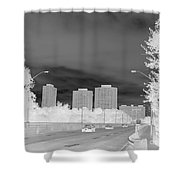 Series Of Black And White 48 Shower Curtain