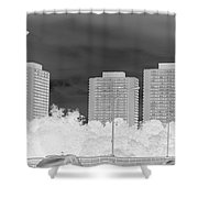 Series Of Black And White 49 Shower Curtain
