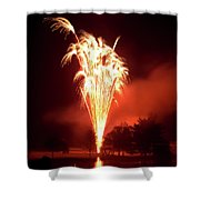 Series Of Fireworks 2 Shower Curtain