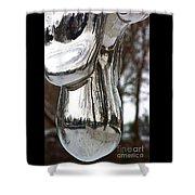 Globe Snow # 2. Shower Curtain