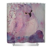 Seriously Shower Curtain by Ginny Youngblood