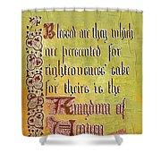Sermon9 Shower Curtain