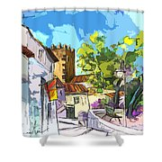 Serpa  Portugal 01 Bis Shower Curtain