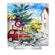Serpa  Portugal 02 Bis Shower Curtain