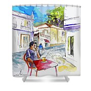 Serpa  Portugal 05 Bis Shower Curtain