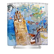 Serpa  Portugal 08 Bis Shower Curtain