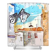 Serpa  Portugal 09 Bis Shower Curtain