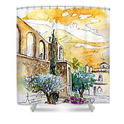 Serpa  Portugal 10 Shower Curtain