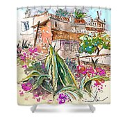 Serpa  Portugal 24 Shower Curtain