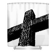 Serra Cross Shower Curtain