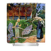 Serusier: Barriere, 1889 Shower Curtain