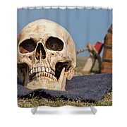 Service With A Smile Shower Curtain