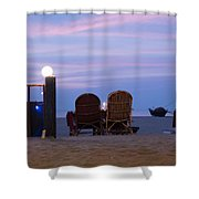 Serving Happiness  Shower Curtain