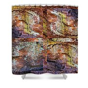Set In Stone Shower Curtain