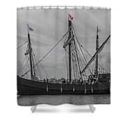 Set Sail For America Shower Curtain