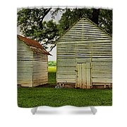 Setting Pen And Chicken Coop Shower Curtain