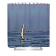 Setting Sail 2 Shower Curtain