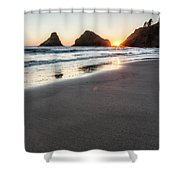 Setting Sun, No. 2 Shower Curtain