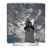 Seul Choix Lighthouse Shower Curtain
