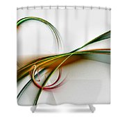 Seven Dreams - Fractal Art Shower Curtain