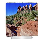 Seven Pools Shower Curtain