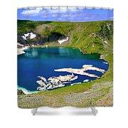 Seven Rila's Lakes Shower Curtain