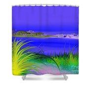 Seven Seas Shower Curtain