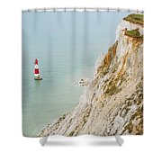 Seven Sisters Cliffs 16 Shower Curtain