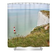 Seven Sisters Cliffs 19 Shower Curtain