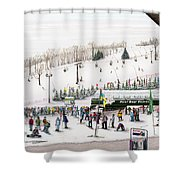 Seven Springs Stowe Slope Shower Curtain