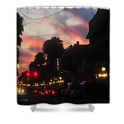 Seventh Avenue Night Shower Curtain