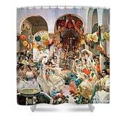 Seville Shower Curtain by Joaquin Sorolla y Bastida