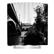 Seville - Triana Bridge Shower Curtain