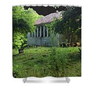 Sewell Mountain School Shower Curtain