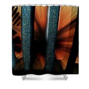 Sewer Shower Curtain