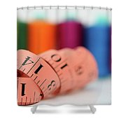 Sewing Kit Shower Curtain