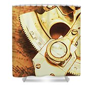 Sextant Sailing Navigation Tool Shower Curtain