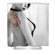 Sexy Back Shower Curtain