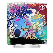 Sexy Beast Shower Curtain