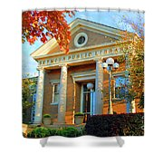 Seymour Public Library Shower Curtain