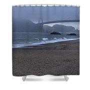 Sf Baker Beach Shower Curtain