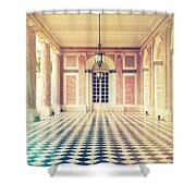 Shabby Chic Versailles Columns Of Grand Trianon Shower Curtain